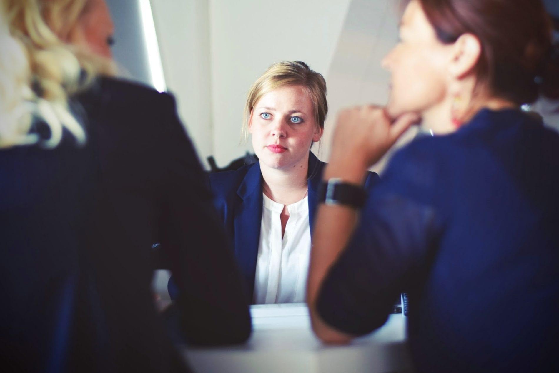 rekrutacja - kobieta