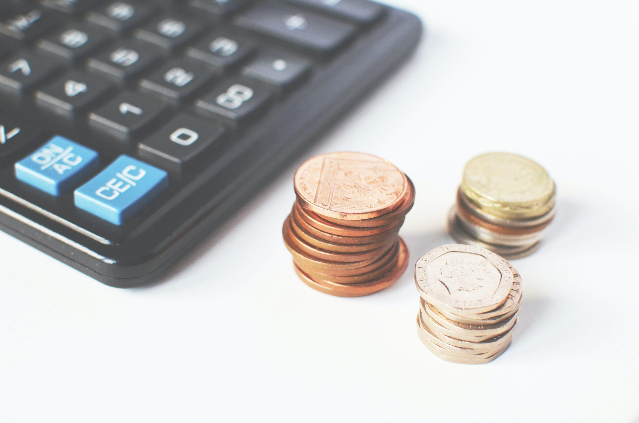 kalkulator - pieniądze